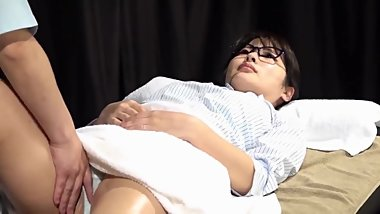 Massage on Sexy Body Japanese Hot Girl two hearts - Asian Traditional
