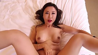 horny japanese wife cheating husband in hotel room