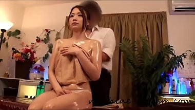 Japanese Sensual Massage Turns Into Finger, Squirt, Orgasm and Sex