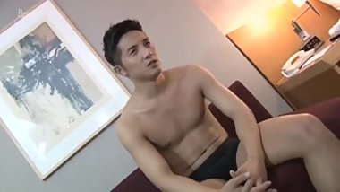 Handsome Japan Guy Fuck Straight