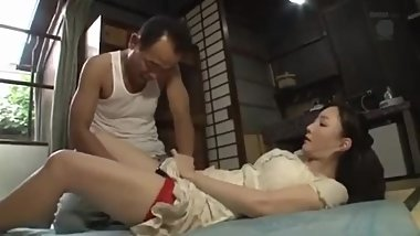 Japanese Father In Law Fucking Big Boobs Wife Saryu Usui