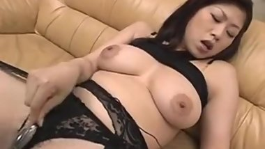 Nana Masaki loves sliding dildo inside her cunt - More at hotajp com