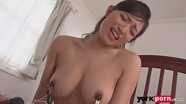 Cute japanese wife fucked by her neighbor