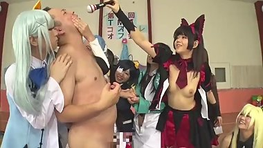 First Times Cosplay Off Meeting Gangbang
