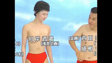 japanese funny topless tvshow
