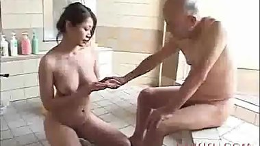 old Japanese blowjob