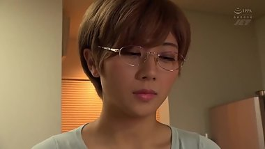 Loyal Wife Tries Not To Cum For Her Husband's Haruka Akane